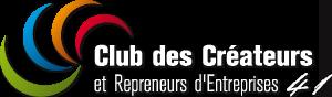 Logo du Club des créateurs et repreneurs d'entreprises 41